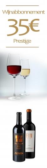 12 maanden het wijnabonnement prestige van 35€
