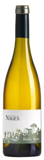 Droog - Fruitig - Kruidig - Langdurige afdronkChâteau de Nages - Vieilles Vignes Blanc 2016