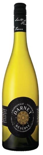 Droog - Fruitig - Aromatisch - Lichte houtstructuurDarnet Chardonnay - Viognier Réserve 2018