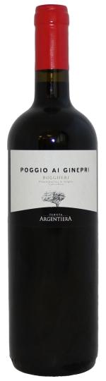 Vol - Krachtig - Fruitig - HoutstructuurPoggio Ai Ginepri Bolgheri 2017