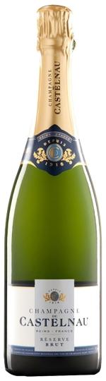 Droog - Fruitig - Kruidig - Langdurige afdronkChampagne De Castelnau Brut Reserve